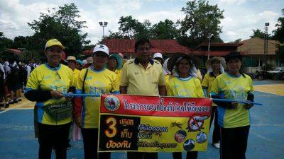 วันที่ 14 มิถุนายน 2562 องค์การบริหารส่วนตำบลเฉลียง โดยการนำของนายวิเชียร  วัฒนาประกุล นายก อบต.เฉลียง ร่วมกับโรงพยาบาลส่งเสริมสุขภาพตำบลเฉลียง  ผู้นำชุมชนประชาชนตำบลเฉลียงและส่วนราชการ ได้ร่วมกิจกรรมเดินรณรงค์ป้องกันโรคไข้เลือดออกและการคัดแยกขยะภายในครัวเรือน